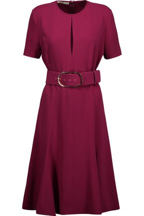 STELLA McCARTNEY Etta belted crepe dress