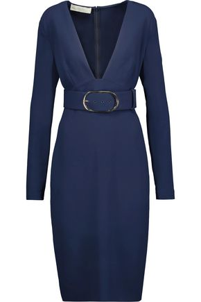 STELLA McCARTNEY Simonetta belted crepe dress