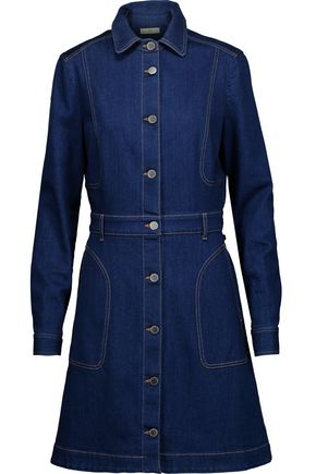 STELLA McCARTNEY Flared denim dress