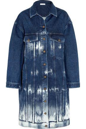 STELLA McCARTNEY Oversized tie-dye stretch-denim jacket