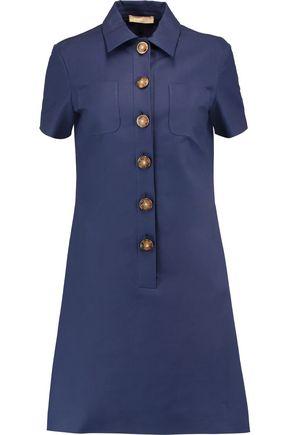 MICHAEL KORS COLLECTION Cotton-broadcloth mini dress