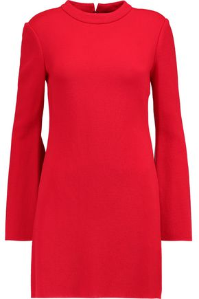 ELLERY Duckie textured-jersey mini dress