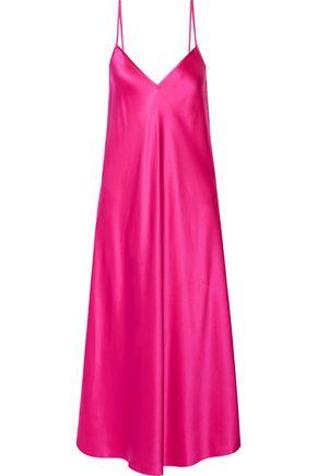 ELLERY Technopriest silk-satin midi slip dress