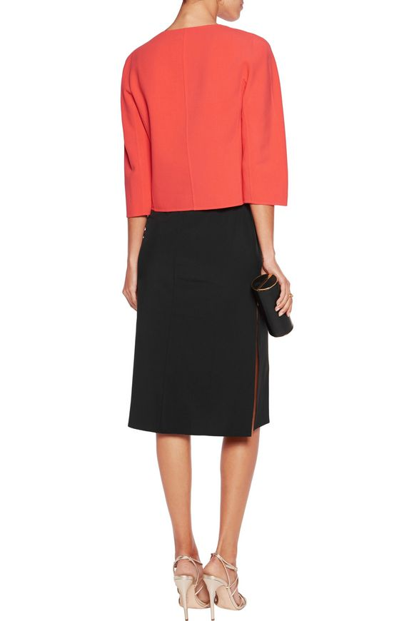Stretch wool-crepe jacket | MICHAEL KORS COLLECTION | Sale up to 70% off |  THE OUTNET