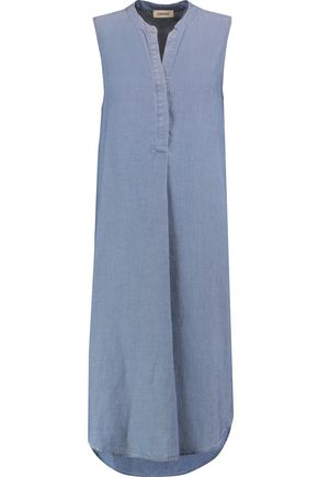 L'AGENCE Morocco chambray dress