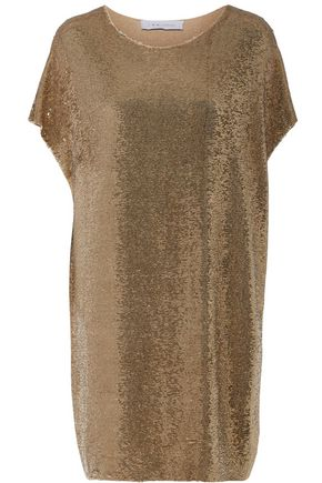 IRO Sequined stretch-knit dress
