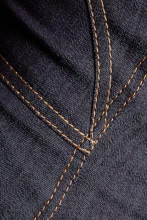 f6fa835aaf6 ... CINQ À SEPT Fenton off-the-shoulder denim mini dress ...