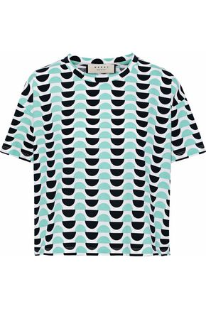 MARNI Printed cotton top