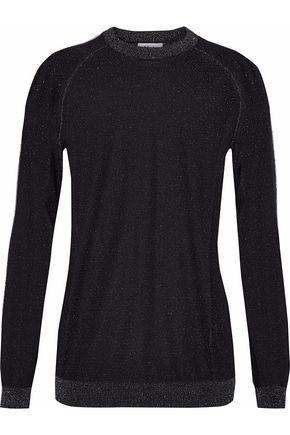 ZOE KARSSEN Metallic knitted sweater