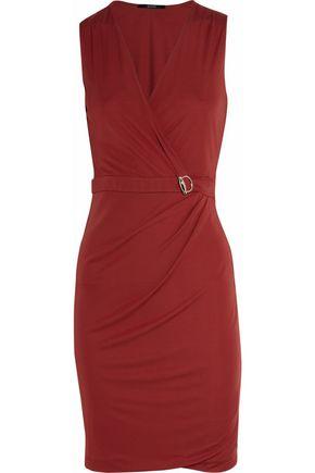 GUCCI Jersey wrap-effect dress