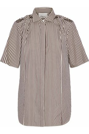 3.1 PHILLIP LIM Striped cotton and silk-blend shirt