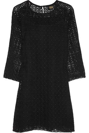A.P.C. + Vanessa Seward Joan crocheted cotton mini dress
