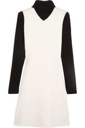 THEORY Myrelle wool-blend turtleneck mini dress