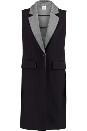 IRIS AND INK Delilah bonded wool-blend gilet