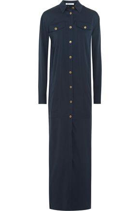 T by ALEXANDER WANG Silk-blend crepe maxi dress