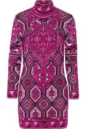 EMILIO PUCCI Jacquard-knit dress