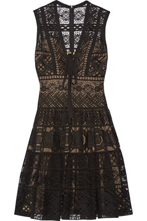 ELIE SAAB Guipure lace dress