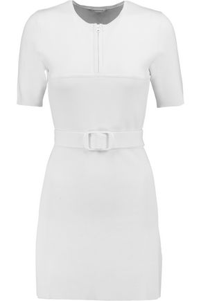 CARVEN Stretch-jersey crepe mini dress
