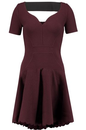 ANTONIO BERARDI Stretch-matelassé mini dress