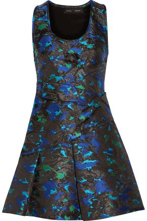 PROENZA SCHOULER Silk-blend jacquard mini dress