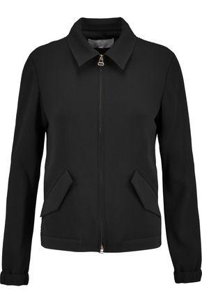 DEREK LAM 10 CROSBY Silk organza-paneled crepe jacket