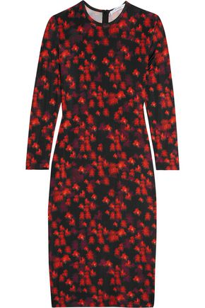 GIVENCHY Dress in floral-print stretch-jersey