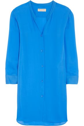 EMILIO PUCCI Silk-georgette shirt dress