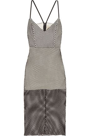 MICHELLE MASON Cutout mesh dress