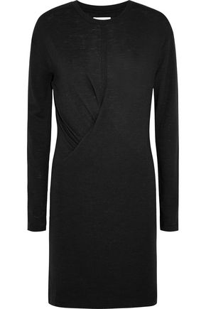 ISABEL MARANT ÉTOILE Wilder gathered slub jersey dress