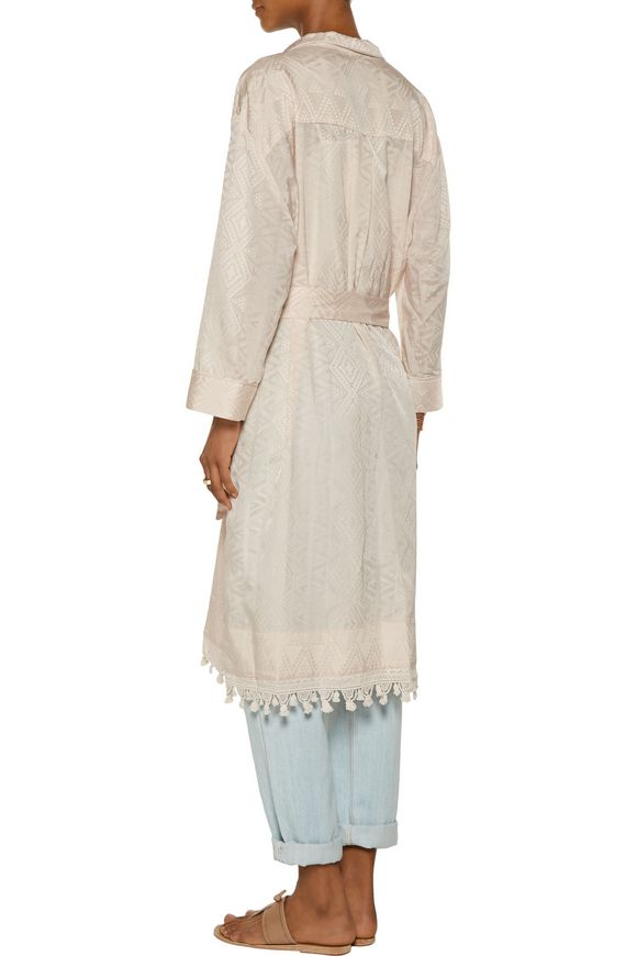 Printed cotton and silk-blend kaftan | SEA | Sale up to 70% off | THE OUTNET