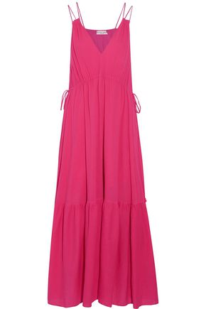 APIECE APART Daphne cotton-crepon maxi dress
