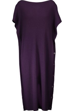 MM6 MAISON MARGIELA Ribbed wool midi dress
