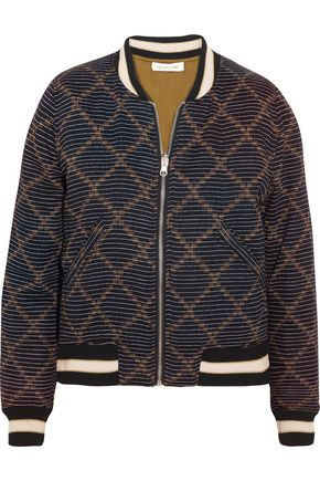 ISABEL MARANT ÉTOILE Dabney reversible printed cotton bomber jacket