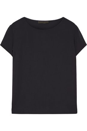 THE ROW Lola stretch-crepe top