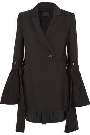 ELLERY Riot Grrl shell-paneled crepe blazer