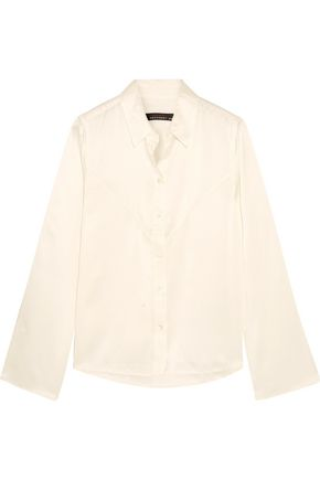 KATE MOSS EQUIPMENT Silk-satin top
