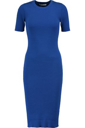 COTTON by AUTUMN CASHMERE Ribbed cotton dress
