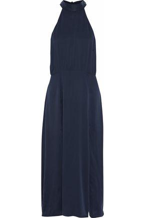 ZIMMERMANN Open-back washed-silk midi dress