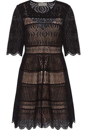 ZIMMERMANN Lavish embroidered lace mini dress