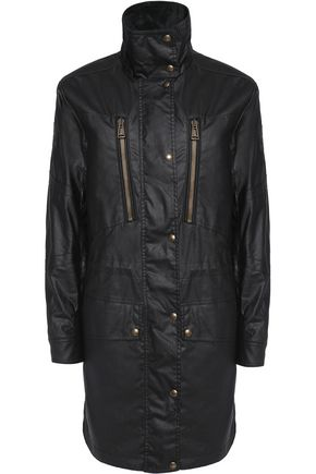 BELSTAFF Racemaster corduroy-trimmed waxed cotton jacket