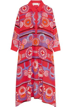 PETER PILOTTO Printed silk midi dress
