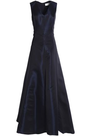 MIKAEL AGHAL Duchesse-satin gown