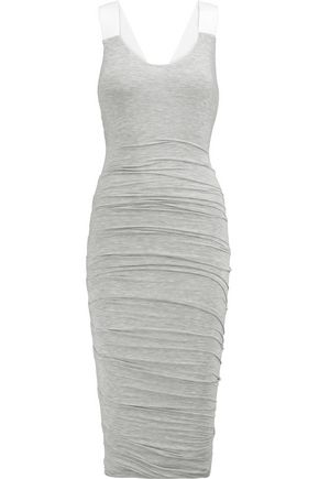 BAILEY 44 Racer-back ruched modal-blend dress