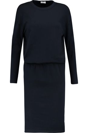 BRUNELLO CUCINELLI Stretch wool-blend midi dress