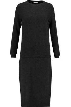 BRUNELLO CUCINELLI Ribbed cashmere and wool-blend dress