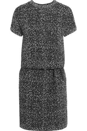 BRUNELLO CUCINELLI Sequin-embellished bouclé-tweed dress