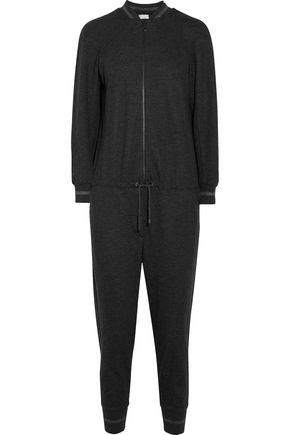 BRUNELLO CUCINELLI Glitter-trimmed jumpsuit