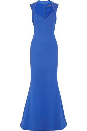 ZAC POSEN Bonded jersey gown
