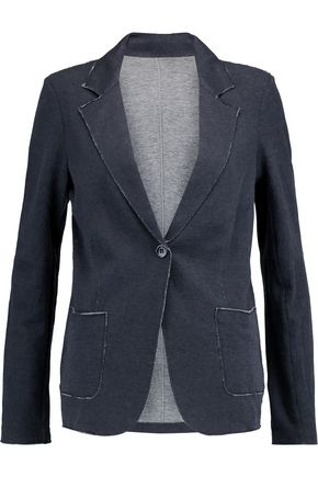 MAJESTIC Cotton and cashmere-blend blazer