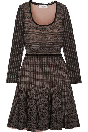 VALENTINO Wool-blend dress